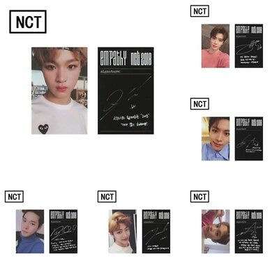 KPOP NCT 2018 EMPATHY REALITY Self Made Lomo Card Personal Picture Photocards