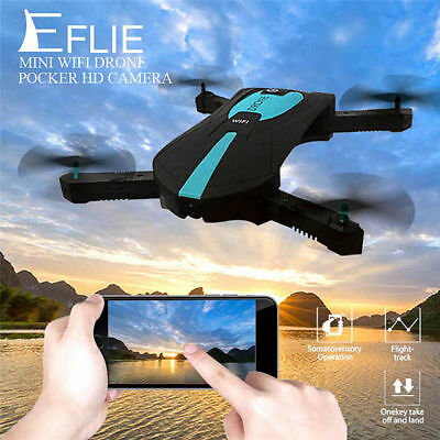 JY018 Foldable Pocket WIFI Selfie Drone Aircraft Camera FPV RC Mini Quadcopter