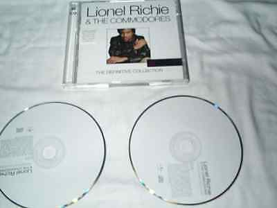Lionel Richie & The Commodores 2 x CD Set - Definitive Collection (2009) n/MINT