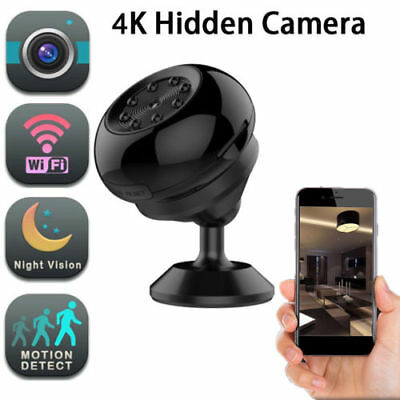 Mini Spy Camera Wireless Wifi IP Security Camcorder 4K 1080P HD Night Vision