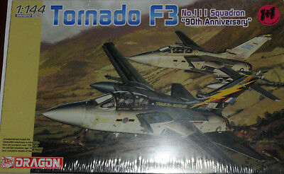 DRAGON 1/144 Tornado F3 Royal Air Force 111 Sqdn & 90th anniversary