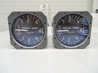 Aerosonic Rate of Climb Indicator RC-60-ILB  0-6000ft / Two devices / good cond.