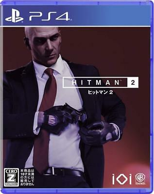 Used Warner Home Video Games Hitman 2 SONY PS4 PLAYSTATION 4 JAPANESE VERSION