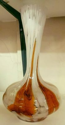 murano glass 31cm high in mint condition