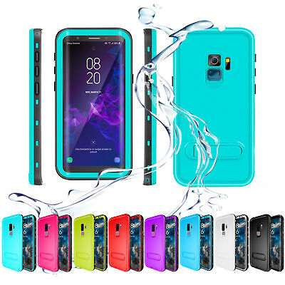 For Samsung Galaxy S9 Plus Waterproof Case Underwater Shockproof Dirtproof Cover