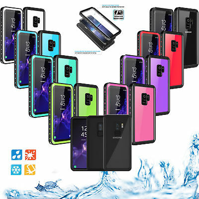 "Waterproof Case 6.6"" Underwater Shockproof Dirtproof For Samsung Galaxy S9 Plus"