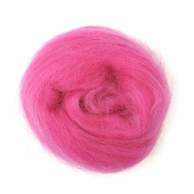 BLACK TRIMITS Natural 100/% Wool Roving For Needle Felting 10g