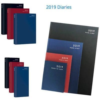 2019 A4 & A5 Day a Page Per Day * Appointment * Desk Diary or Calendar Tab