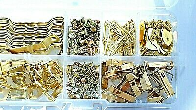 Picture Kit Screws Hangers Hooks Nails D Rings Mixed Set 181 Pieces