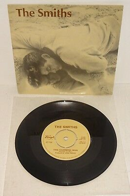 "The Smiths This Charming Man 1983 Rough Trade 'capitol' Logo Uk 7"" Press. P/s"
