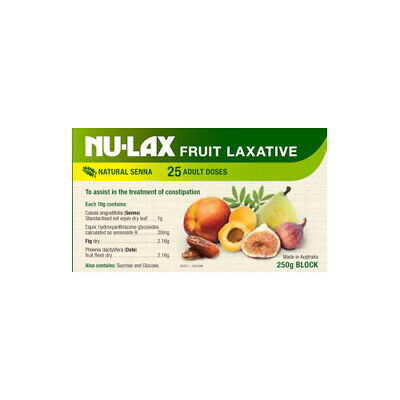 NEW Nu-Lax Constipation Treatment 250g