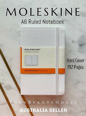 Moleskine Hard Cover Ruled Notebook (note pad book sketch art pen draw Carnet)