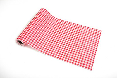 Gingham Non-adhesive Shelf Liner Paper Roll for Kitchen Bathroom Cabinets Drawer