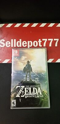 Legend of Zelda: Breath of the Wild (Nintendo Switch, 2017) Brand New