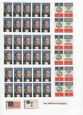 Discount Postage Stamps Enough to Mail 50 One Ounce Letters - Face Value $27.50