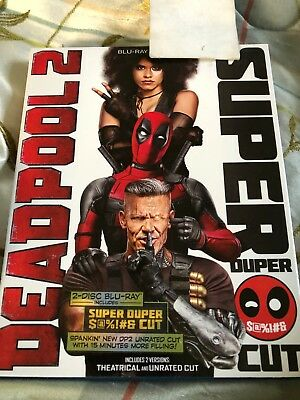 Deadpool 2 (Blu-ray, 2-Disc, 2018) Ryan Reynolds, Josh Brolin - No Digital