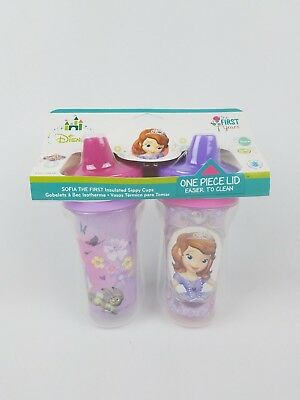 The First Years Disney Sofia the First Insulated Sippy Cup 9 Oz Baby Cup 2pk
