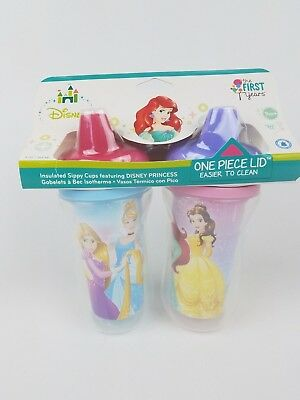 The First Years Disney Princess Insulated Sippy Cup 9 Oz Baby Cup 2pk