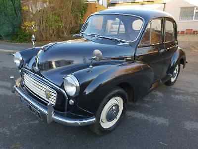 Morris Minor 1961 Fully Rebuilt Near Perfect Condition 2 Owners Fsh