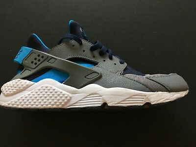 """competitive price df370 2133e Nike Air Huarache """"Cool Grey-Navy"""" Men s Trainer Limited Edition Shoes"""