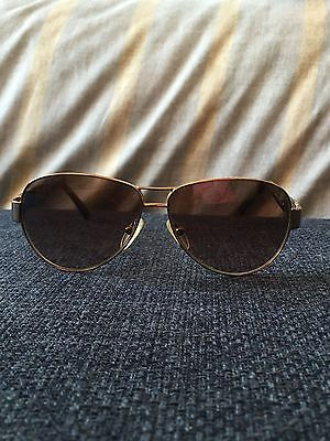 7e2a1d8c3877 FENDI SUNGLASSES BROWN Tortoise with White Rim and gold arms ...