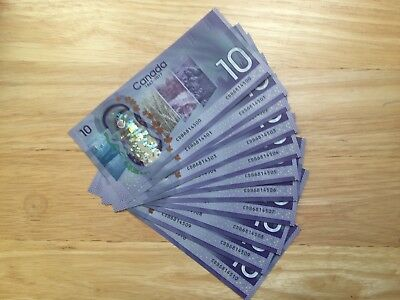$10-2017 Canada 150 th Anniversary note  CHOICE UNCIRCULATED Look at all Pic