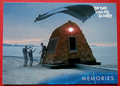 DAVID BOWIE - The Man Who Fell To Earth - Card #41 - Memories - Unstoppable