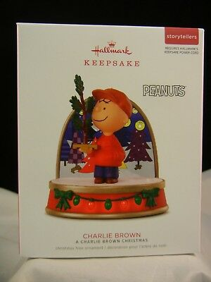 Hallmark Keepsake Ornament 2018 Charlie Brown - A Charlie Brown Christmas NIB