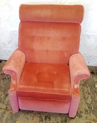 Pleasant Parker Knoll Recliner Chair Vintage Original Retro 1 Of 2 Evergreenethics Interior Chair Design Evergreenethicsorg