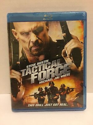 Tactical Force(Blu-ray Disc 2011) Stone Cold Steve Austin, Michael Jai White NEW
