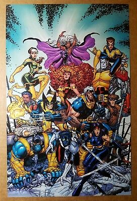 X-Men Giant Sized Special 100 Marvel Comics Poster by Arthur Adams