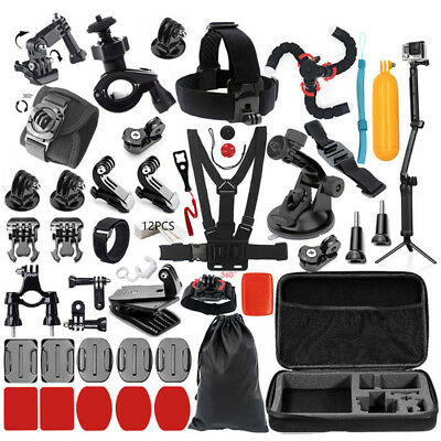 For Gopro hero Session 7 6 5 4 SJCAM/Xiaomi yi EKEN Accessories Kit Mount