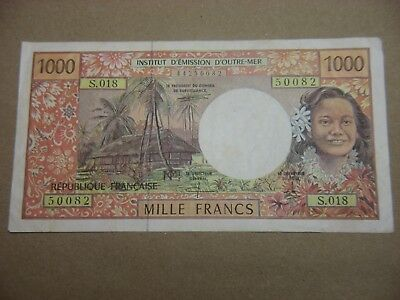 French Pacific   1971 - 1985 1000 (1,000) Francs