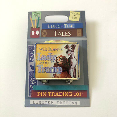 LE Lady and the Tramp Lunch Time Tales Lunchbox Lunchtime Disney Pin