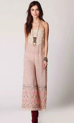 Free People Sequin Jumpsuit 12500 Picclick