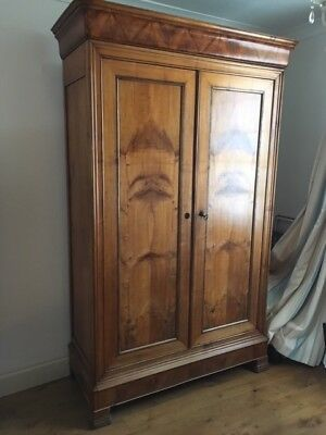 Antique French Wardrobe Original