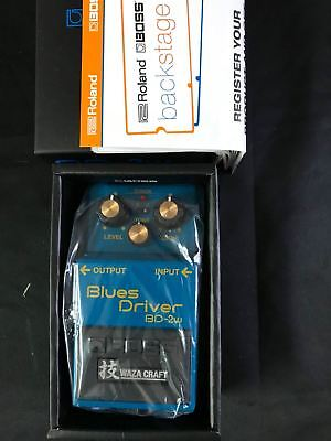 BOSS BD-2W BLUES Driver WazaCraft Overdrive Pedal Made In