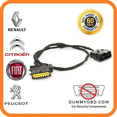 Fiat Ducato and most other Fiat DUMMY FAKE OBD PORT Anti Theft OBD Guard LOCK