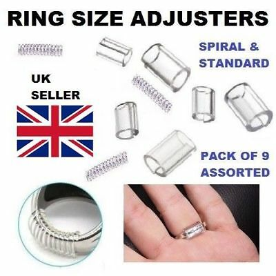 Ring Size Reducers Snuggies Snugs Clip Resizer Adjusters - BULK PURCHASE LISTING