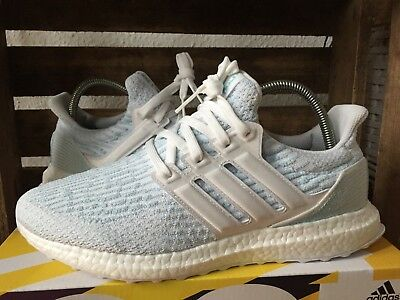 440ff59a46500 ADIDAS ULTRA BOOST 4.0 Parley Mens Running Shoes Grey Trainers - EUR ...
