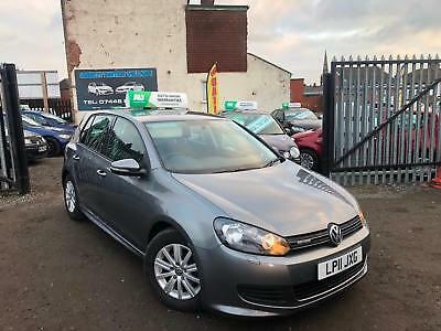 2011 Volkswagen Golf 1.6 Tdi S Bluemotion Tech 5 Door Hatchback Fsh Warranty