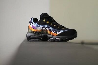NIKE AIR MAX 95 Erdl OG MC SP Party Mens Multi Camo Trainers Black Size UK 8