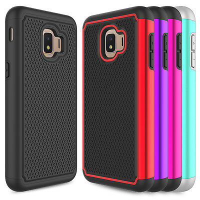For Samsung Galaxy J2 2019/J2 Core/Dash/Pure Shockproof Hybrid Armor Case Cover