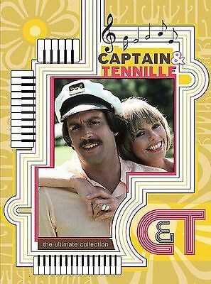 Captain & Tennille-3 Dvd Set-New-Includes Their Tv Variety Show & 1 Cd