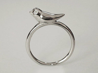 Sovats Silver 925 Bird Ring Jewelry Rings For Women Fashion Jewelry Size 5-12