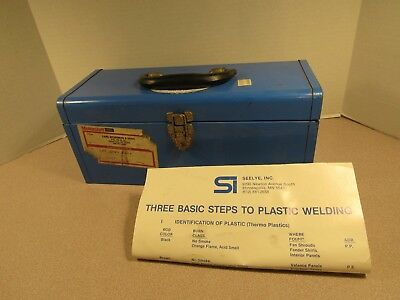 Seelye Electric Plastic Welder Case/booklet-SI 1167