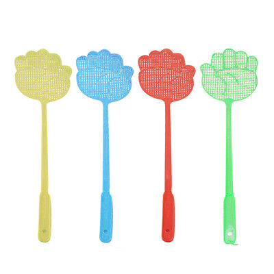 10x Hand Shape Fly Swatter Bug Mosquito Insect Wasps Killer Catcher Swat Zapper