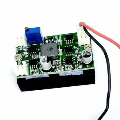 4A 1W-4.5W 405nm/450nm Blue Laser Diode Driver Board 12V Step-down Circuit TTL