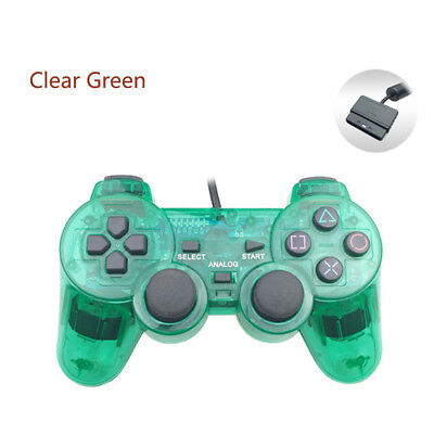 Wired Gamepad Controller Joystick For Sony PS2 Double Vibration For PlayStation2