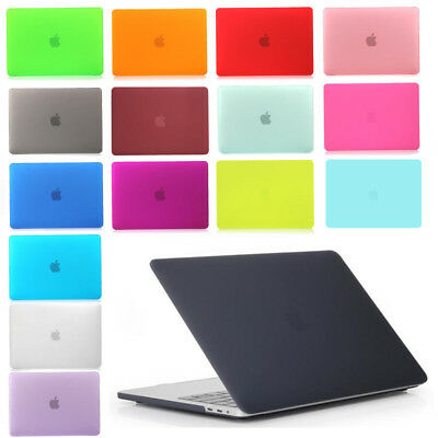 Crystal Clear Hardshell Hard Case Cover For Apple Macbook Air Pro Retina 13 15